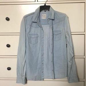 Joe's Jean denim shirt